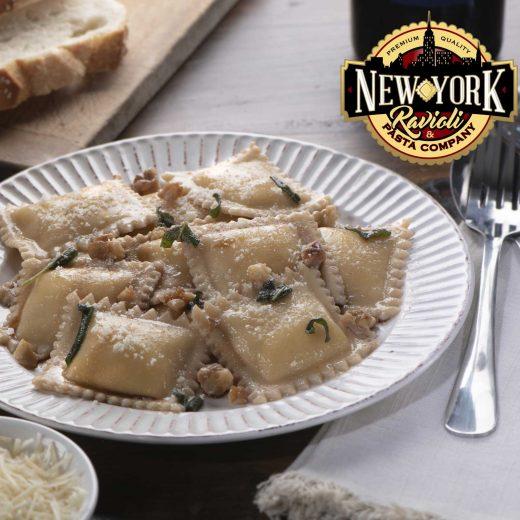 new york ravioli square ravioli